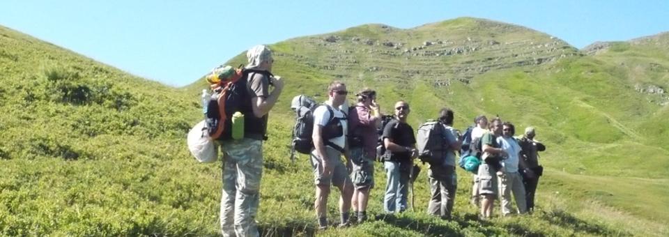 Trekking Arcieri di Yr Corno alle Scale